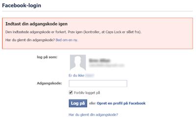 facebook-login-fejl